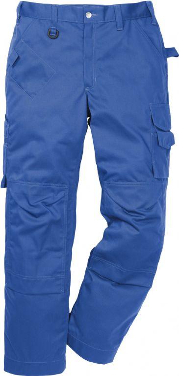 Fristads Icon One Cotton Trousers with Kneepad Pockets 2112 KC / 114119 (Royal Blue)